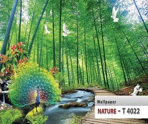 طرح طبیعت پوستر سه بعدی